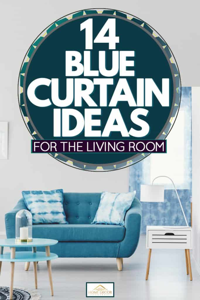 14 Blue Curtain Ideas For The Living Room Home Decor Bliss