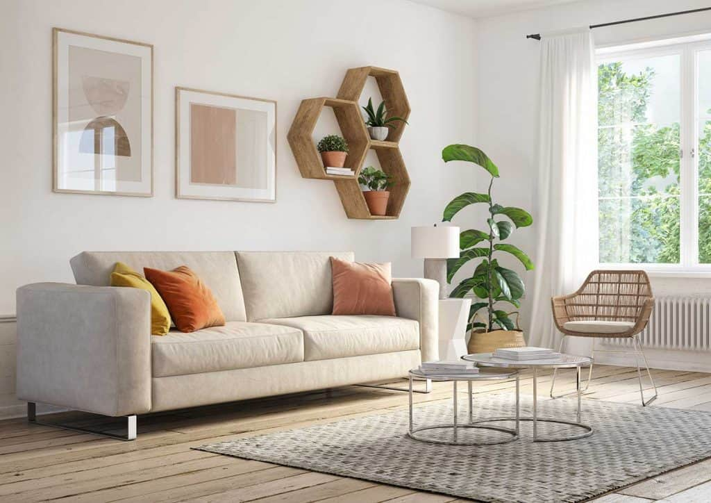 How To Decorate A Large Wall In The, Decorating Ideas For Large Walls In Living Room