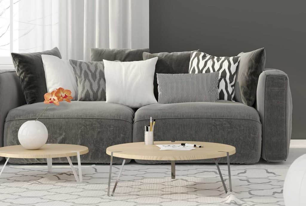 Image of: Which Throw Pillows Work Best With A Dark Gray Couch 21 Ideas With Pictures Home Decor Bliss