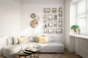 Where To Put The Wall Clock In Your Living Room?