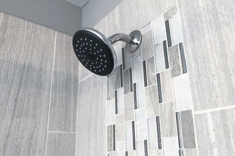Bathroom shower interior with wall tile design, What Is The Best Material For Shower Walls? [5 Options Examined]