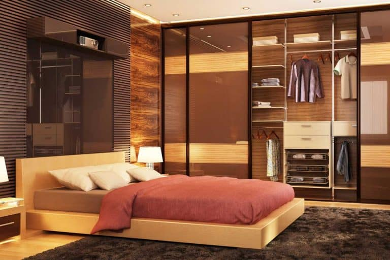 Large modern sliding wardrobe in a beautiful big bedroom, What Does A Bedroom Set Typically Include? [5, 6, And 7 Pieces]