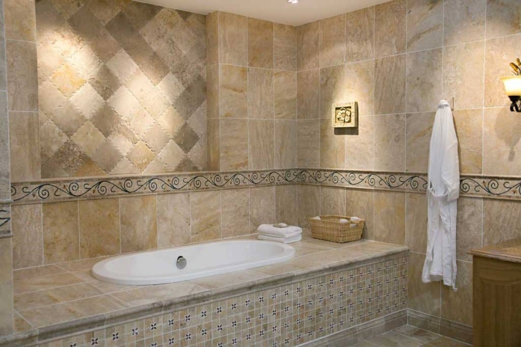 should the bathroom floor and wall tiles match  home