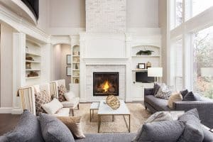 How High Should A Fireplace Mantel Be?