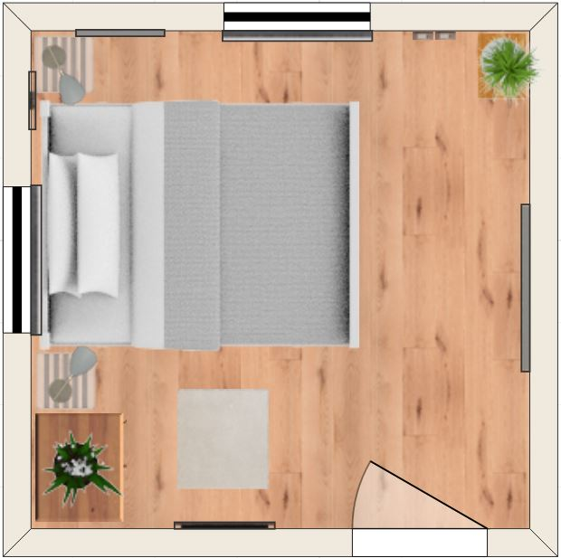 Seven 10x10 Bedroom Layouts To Consider Inc 3d Simulations Home Decor Bliss