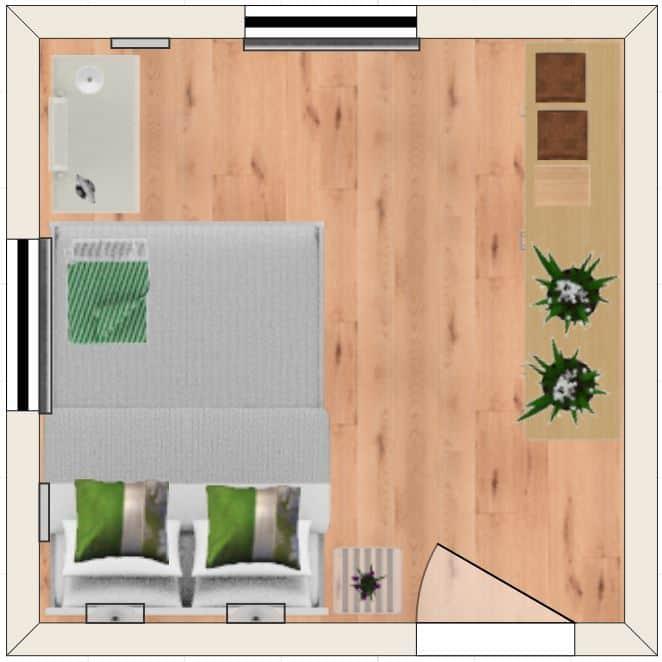 Layout 5 bedroom