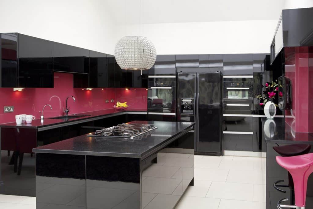 What Color Cabinets With Black Granite Countertops Home Decor Bliss