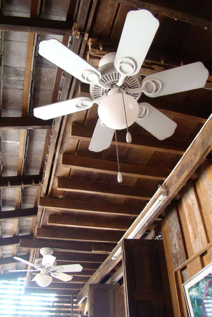 Should the Ceiling Fan Match the Ceiling Color? - Home ...