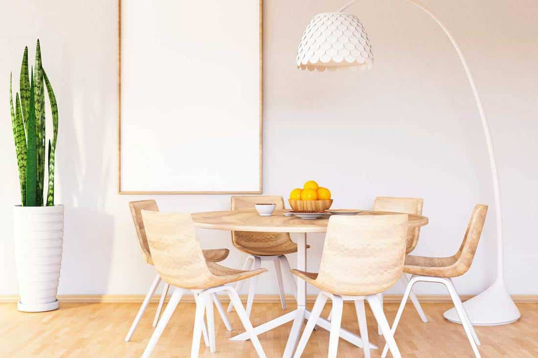how much room do you need for a dining table and chairs