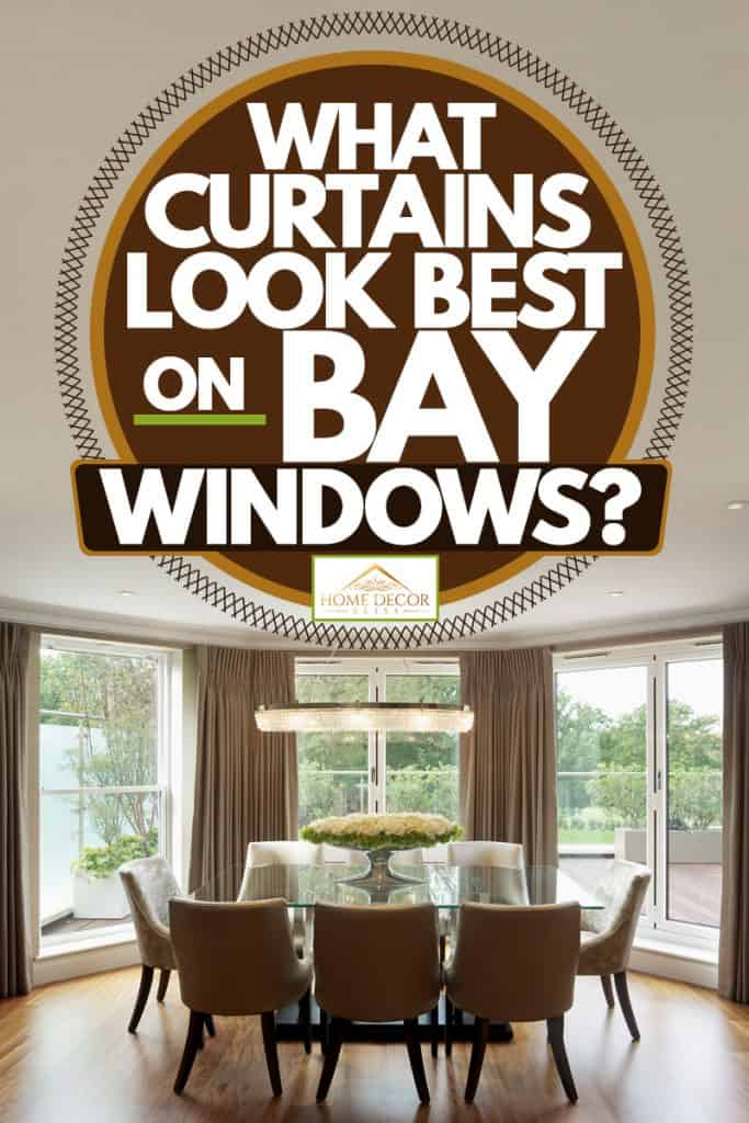 Image of: What Curtains Look Best On Bay Windows Home Decor Bliss