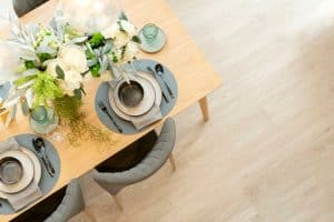 Should Your Dining Table Always Be Set?