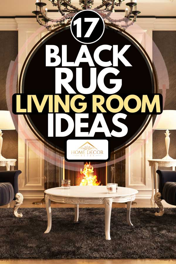 17 Black Rug Living Room Ideas Home Decor Bliss