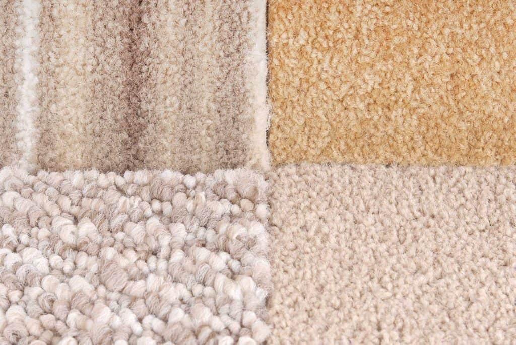 A carpet selection