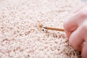 How to Fix a Burn in Carpet