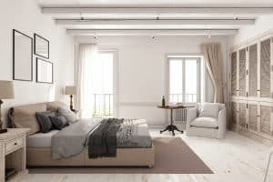 What Color Bedding Goes With Beige Walls?