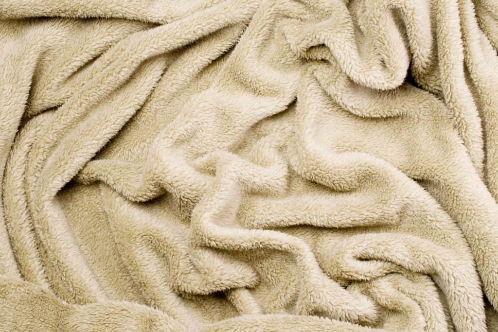 Close up photo of a blanket