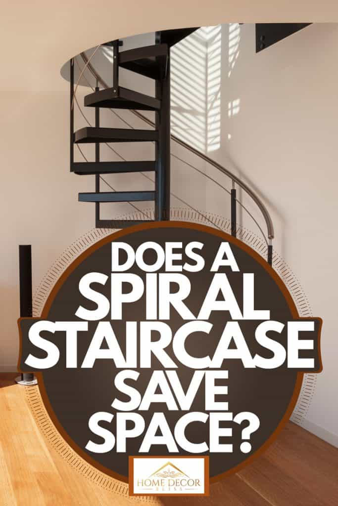 Does A Spiral Staircase Save Space, Spiral Staircase Storage