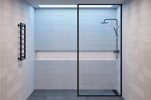 Is the Shower Door Glass Typically Tempered?