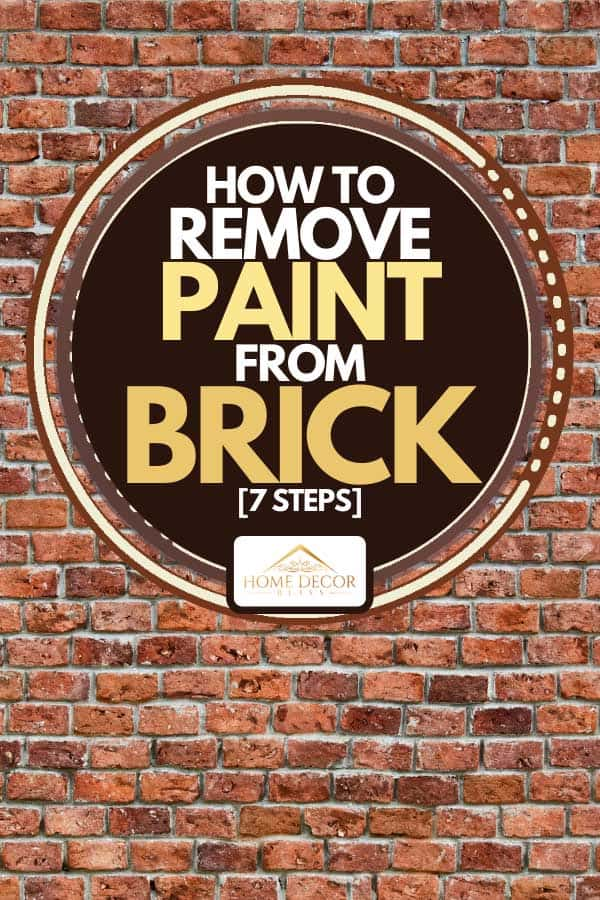 A brick wall and wooden floor domestic room, How To Remove Paint From Brick [7 Steps]