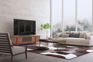 Where to Place the TV in a Living Room?