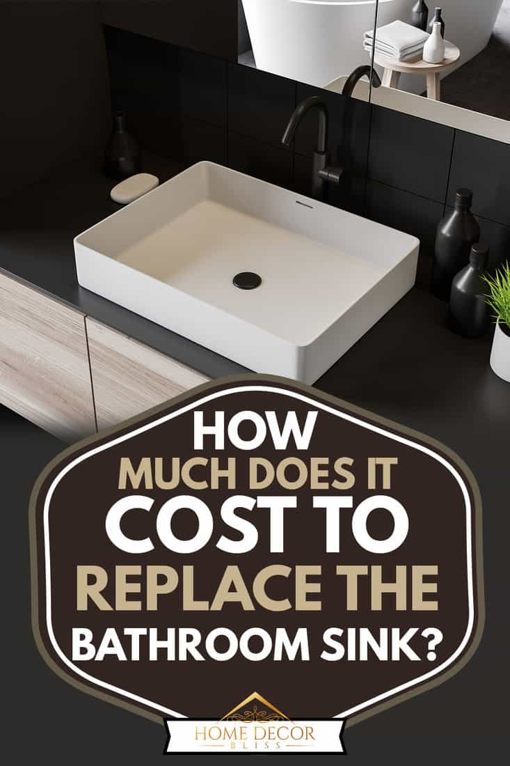 How Much Does It Cost To Replace The Bathroom Sink Home Decor Bliss