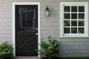 How To Paint A Door With Glass Panels