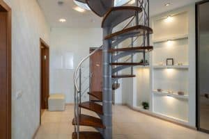 How Big Is A Spiral Staircase?
