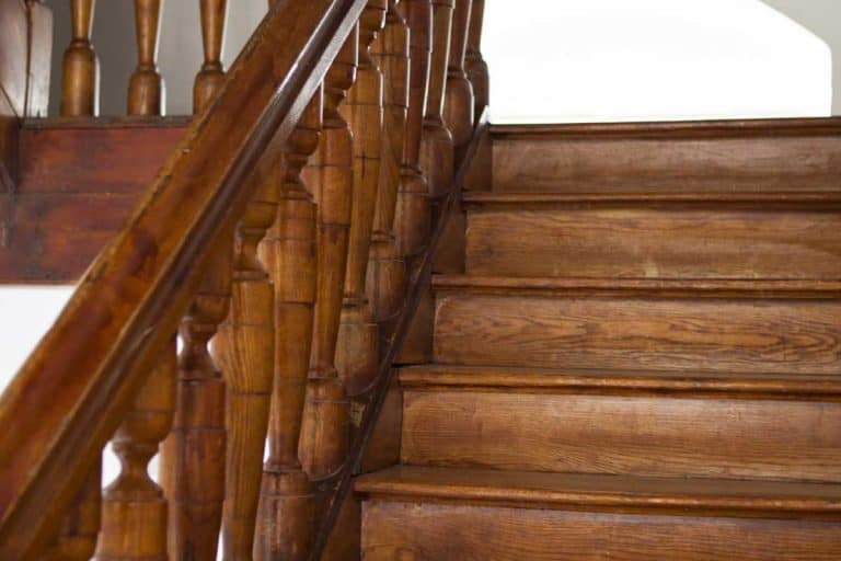 Wooden stairs in the old palace, How Much Does It Cost To Refurbish A Staircase?