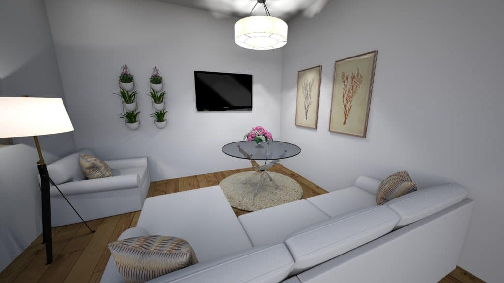Second small living room with sectional