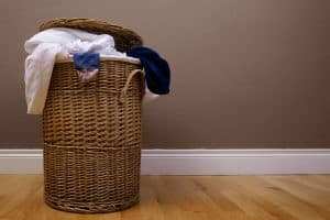 Read more about the article Where To Keep Your Laundry Basket [4 Great Options]