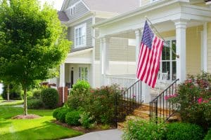 Which Side Of Porch To Hang American Flag?