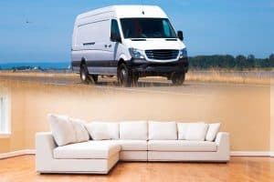 Can A Sectional Fit In A Pickup Truck Or Cargo Van?