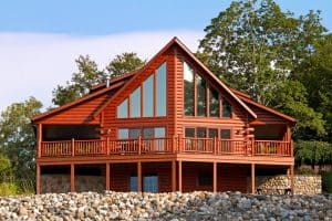 How Much Does Log Siding Cost (Inc. Faux Log Siding)