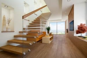 What Type Of Glass Is Used For Stairs?