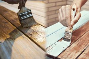 Staining Vs. Painting for Outdoor Wooden Surfaces