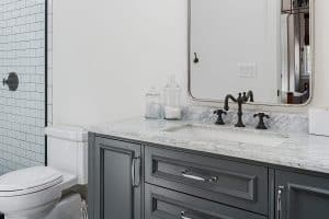 Should Bathroom Faucets Match Cabinet Fixtures And Hardware?