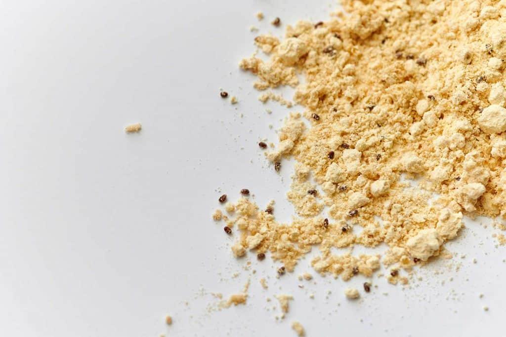 Flour beetles in baking flour