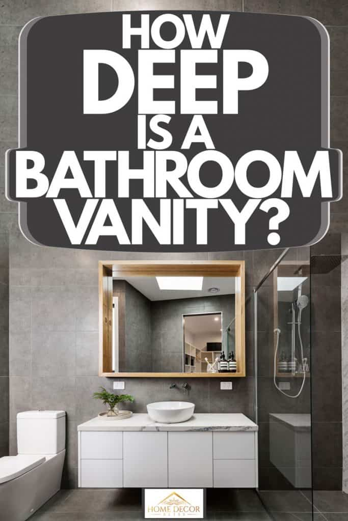 How Deep Is A Bathroom Vanity Home Decor Bliss