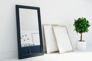 How To Paint A Mirror Frame [6 Steps]