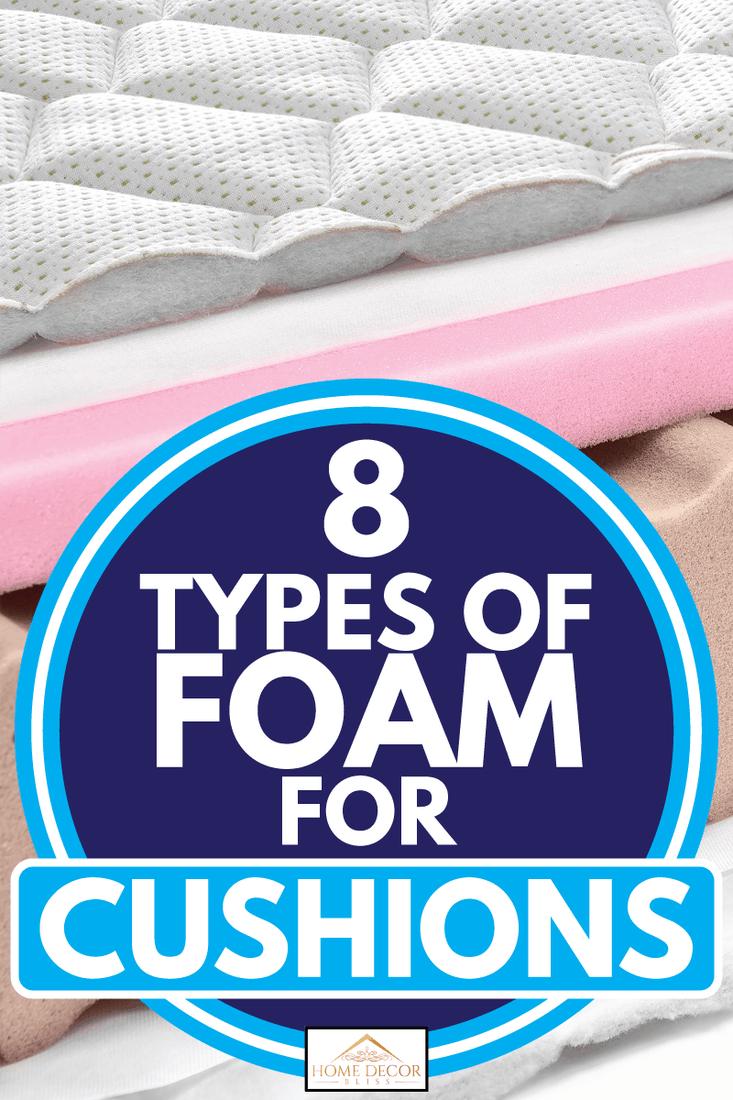 Memory foam - latex mattress cross section - hi quality modern, 8 Types Of Foam For Cushions