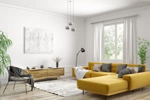 9 L-Shaped Sofa (Sectional) Living Room Layout Ideas