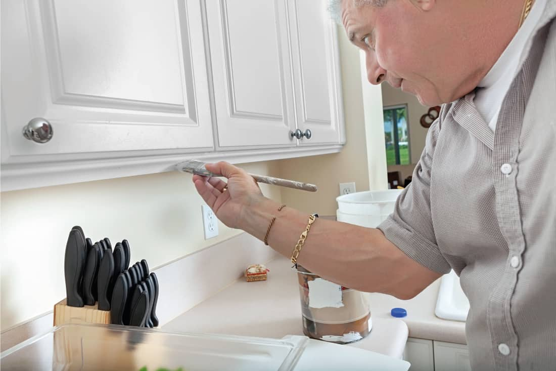 How To Get A Smooth Finish When, How To Get The Best Finish When Painting Kitchen Cabinets