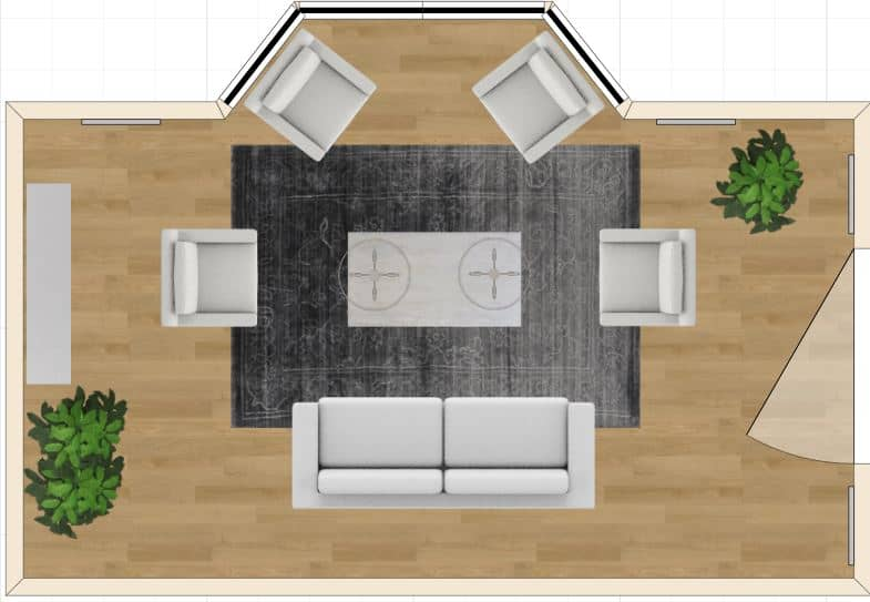 Room 1 layout