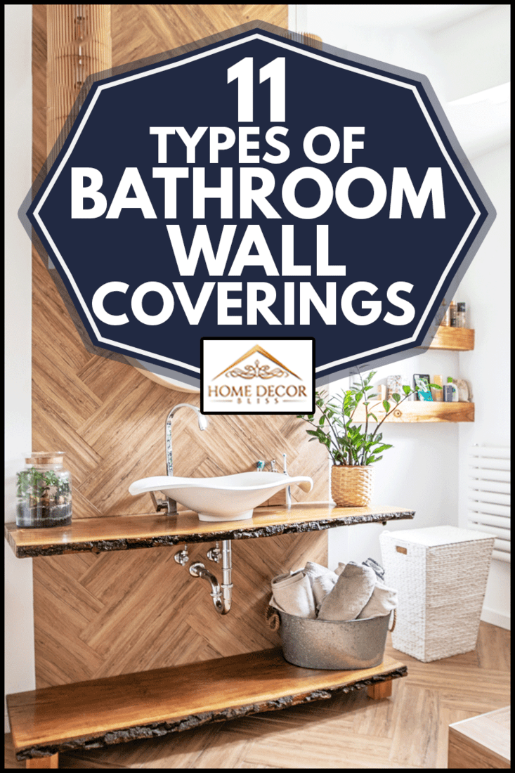 11 Types Of Bathroom Wall Coverings, Wall Covering For Bathroom