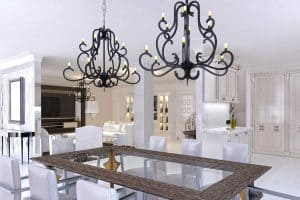 Can You Have Two Different Chandeliers In One Room?