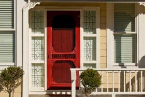 Should the Screen Door Match Your Front Door?