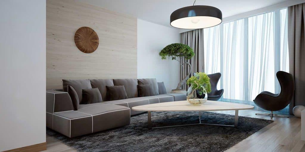 Bright lounge modern style