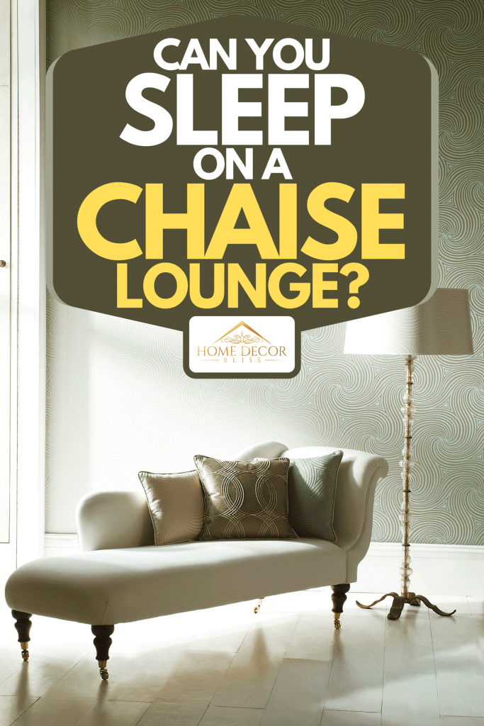 An interior image of chaise lounge in a bright room, Can You Sleep On A Chaise Lounge?