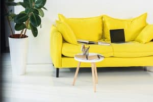 What Goes With A Yellow Couch?