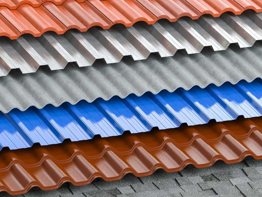 Different types of roof coating